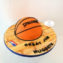 Custom Basketball Cake