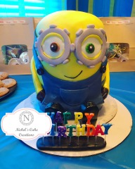 Bob the Minion - Custom Cake