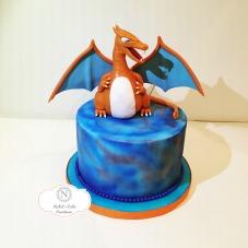 Custom Charizard Cake