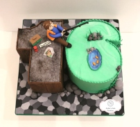 16th B-day Fishing Cake