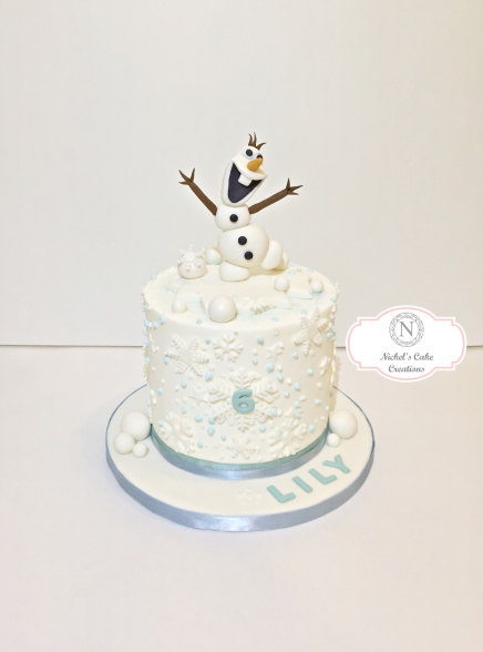 Frozen Custom Cake