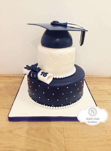 Custom Graduation Cake