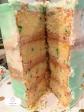 yummy Confetti Naked Cake