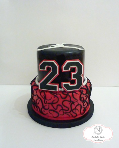 Michael Jordan Custom Cake