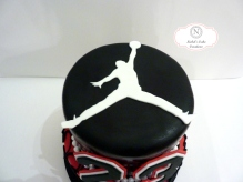 Jordan Logo on Custom cake