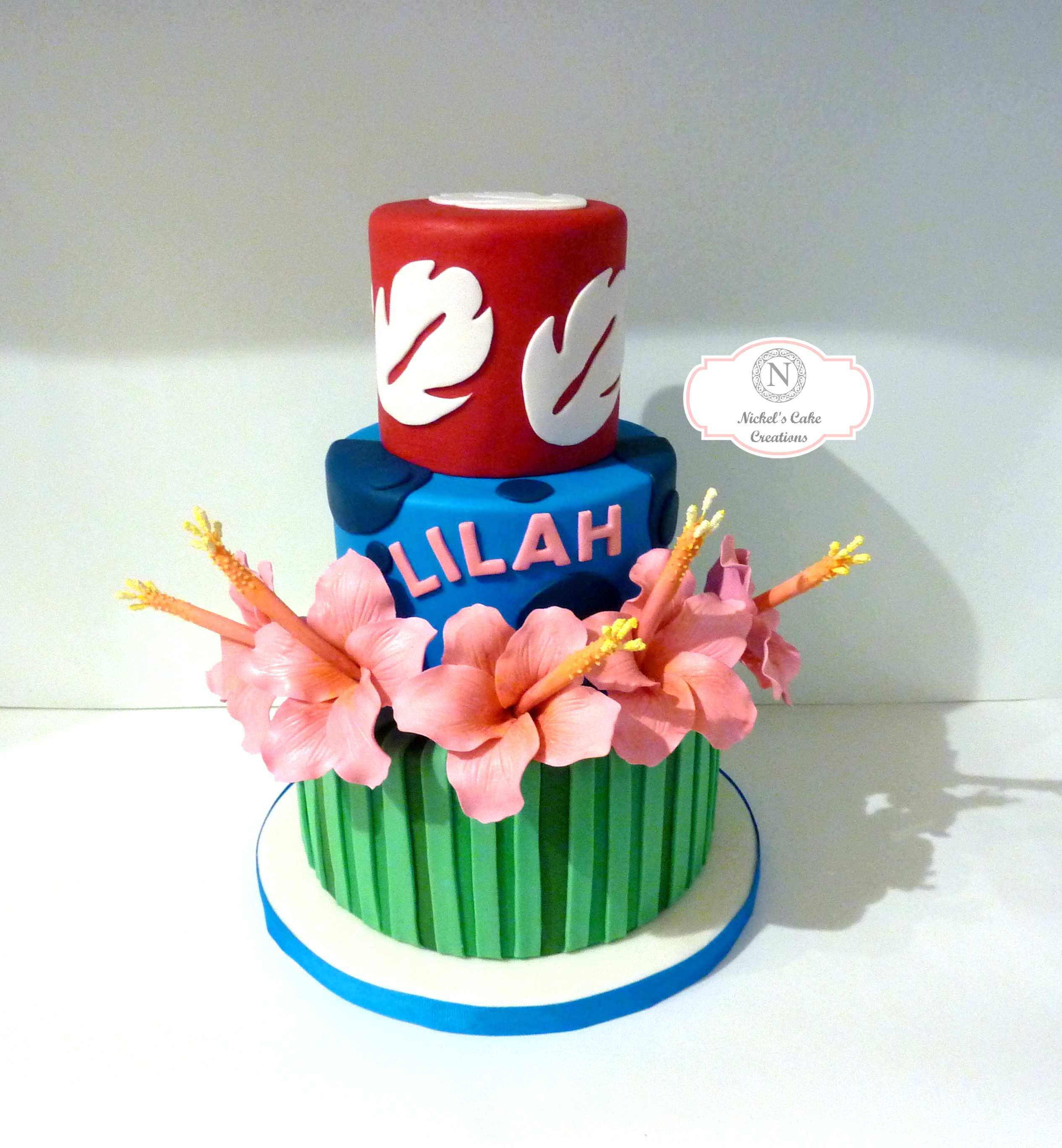 Lilo N Stitch W Logo 2 Nickels Cake Creations