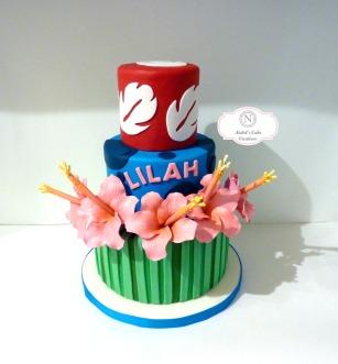 Lilo & Stitch Cake