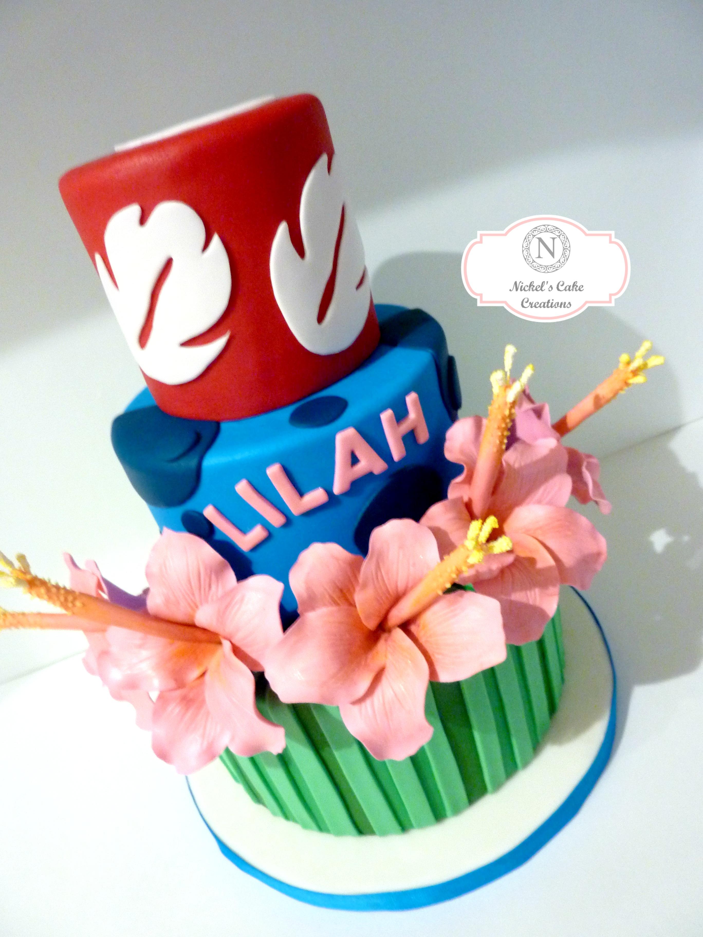 Lilo N Stitch W Logo Nickels Cake Creations