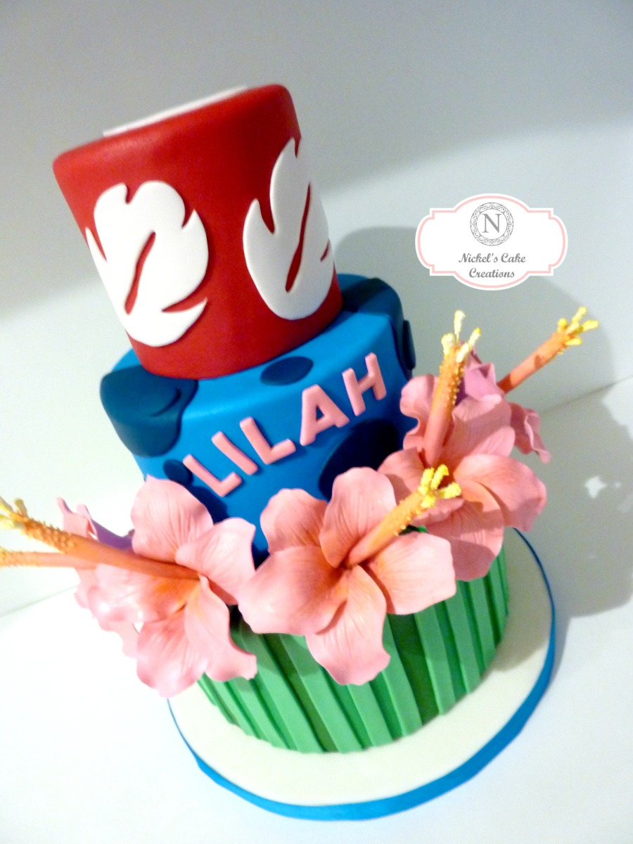 Lilo N Stitch W Logo Nickels Cake Creations