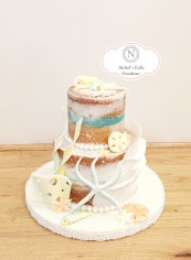Mini Naked Ocean Theme Cake