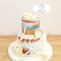 Mini Custom Ocean Cake