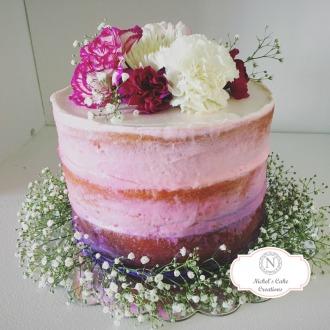 Nake Ombre Cake
