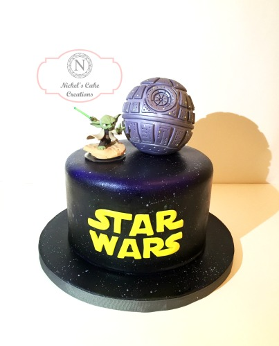 Custom Death Star Cake