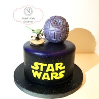 Star Wars Death Star Custom Cake