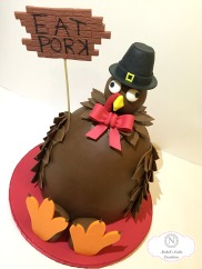 Custon Turkey Cake