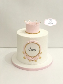 Priness Crowned Cake