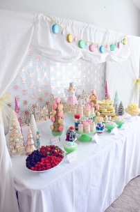 Nutcracker Party. Hosted by Smash Cake SoCal Event Planners. Photo credit to Tiffany Nicole Photography