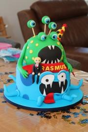 Odd Squad cake