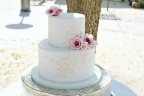 Bethany's Lace wedding Cake