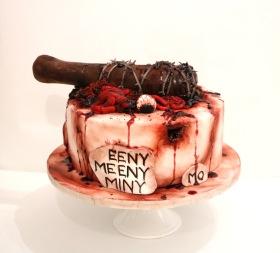 Walking Dead Halloween Cake
