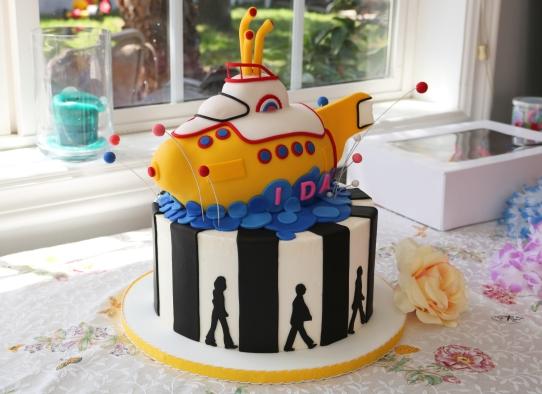 Ida's Beatles Cake