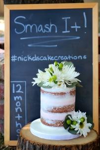 Naked Smash Cake